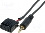 4carmedia / Aux adapter; Jack 3,5mm; Ford