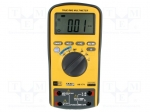 Axiomet AX-174 / Digital multimeter; LCD (6000), with a backlit; 3x/s; Tr