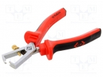 Carl kammerling T3754 / Stripping tool; Wire: round; Wire dia:0.3÷5mm; L