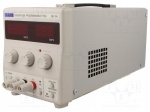 Aim-tti EX355P-USB / Pwr sup.unit: laboratory; Channels:1; 0÷35VDC; 0÷5