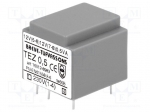Breve tufvassons TEZ0.5/D230/12-12V / Transformer: encapsulated; 0.5VA; 2
