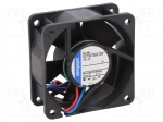 Ebm-papst 612 NN / Fan: DC; axial; 60x60x25mm; 42m3/h; 35dBA; ball bearin