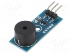 Okystar OKY3152 / Module: signalling device; buzzer; 3.3÷5VDC; 33x13mm