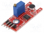 Okystar OKY3135 / Sensor: sound; analog, digital; 3.3÷5VDC; IC: LM393