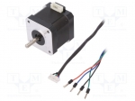 Dfrobot FIT0278 / Motor: DC; stepper; 3.4VDC; Shaft: D spring; max.16mNm;