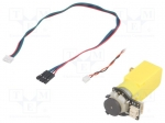 Dfrobot FIT0450 / Motor: DC; with encoder, with gearbox; Gravity; 3÷7.5V