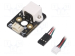 Dfrobot DFR0332 / Motor: DC; without gearbox; Gravity; 3÷6VDC; 360mA; Sh
