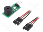 Okystar OKY3151-1 / Module: signalling device; buzzer; 3.3÷5VDC; 33x13mm