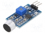 Okystar OKY3131 / Sensor: sound; digital; 3.3÷5VDC; IC: LM393; 32x17mm