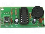 Jabel / Circuit; humidity sensor; 9VDC; flood detection