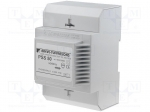 Breve tufvassons PSS50/500/24V / Transformer: safety; 50VA; 500VAC; 24V;