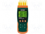 Extech SDL200 / Temperature meter; 2x LCD, with a backlit; -199.99÷850°