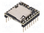 Dfrobot DFR0299 / Module: audio; audio files playing module; 3.3÷5VDC; p