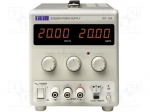 Aim-tti EX2020R / Power supply: laboratory; Channels:1; 0÷20VDC; 0÷20A;