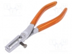 Bahco 3417 NF / Stripping tool; Wire: round; 23AWG÷4AWG; Length: 160mm;