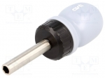 Avit AV05020 / Screwdriver handle; Overall len: 110mm; Working part len: