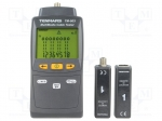 Tenmars TM-903 / Tester: LAN wiring; Dim: 156x73x35mm; Measured cable l:
