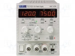 Aim-tti / Power supply: laboratory; Channels: 1; 0÷120VDC; 0÷0.75A