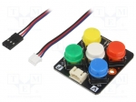 Dfrobot DFR0075 / Sensor: touch; switch; analog; 3.3÷5VDC; Channels:5; G