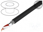 Helukabel 400080 / Wire: microphone cable; black; Cu; PVC; -30÷70°C; Ø